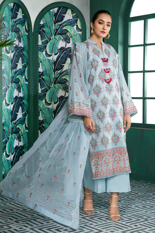 Gul Ahmed Lawn 2020 Stitched 3 Piece LSV#22
