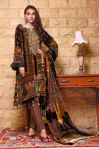 Gul Ahmed Stitched Velvet 2020 BVL#26