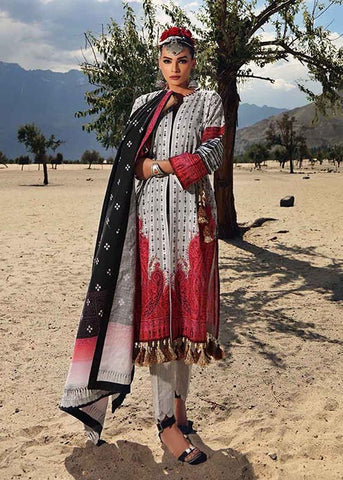 Gul Ahmed Stitched Winter 3 Piece  K#60