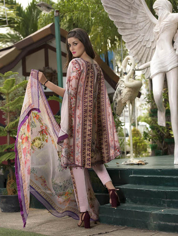 STITCHED CHIF. DUPATTA LAWN 3 PC KC-5037