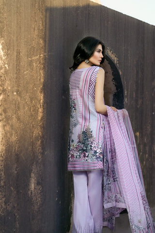 Khas Lawn Vol. 1 2018 Stitched 3 Piece Kce-6006