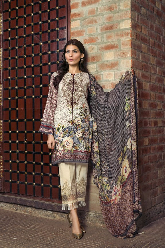 Khas Lawn Vol. 1 2018 Stitched 3 Piece KCE-6007