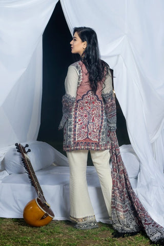 Khas Lawn Vol. 1 2018 Stitched 3 Piece Kce-6009
