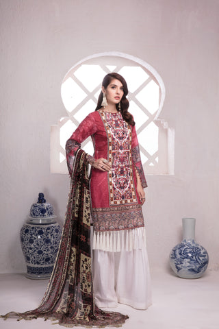 STITCHED 3 PIECE SUIT KCE6026
