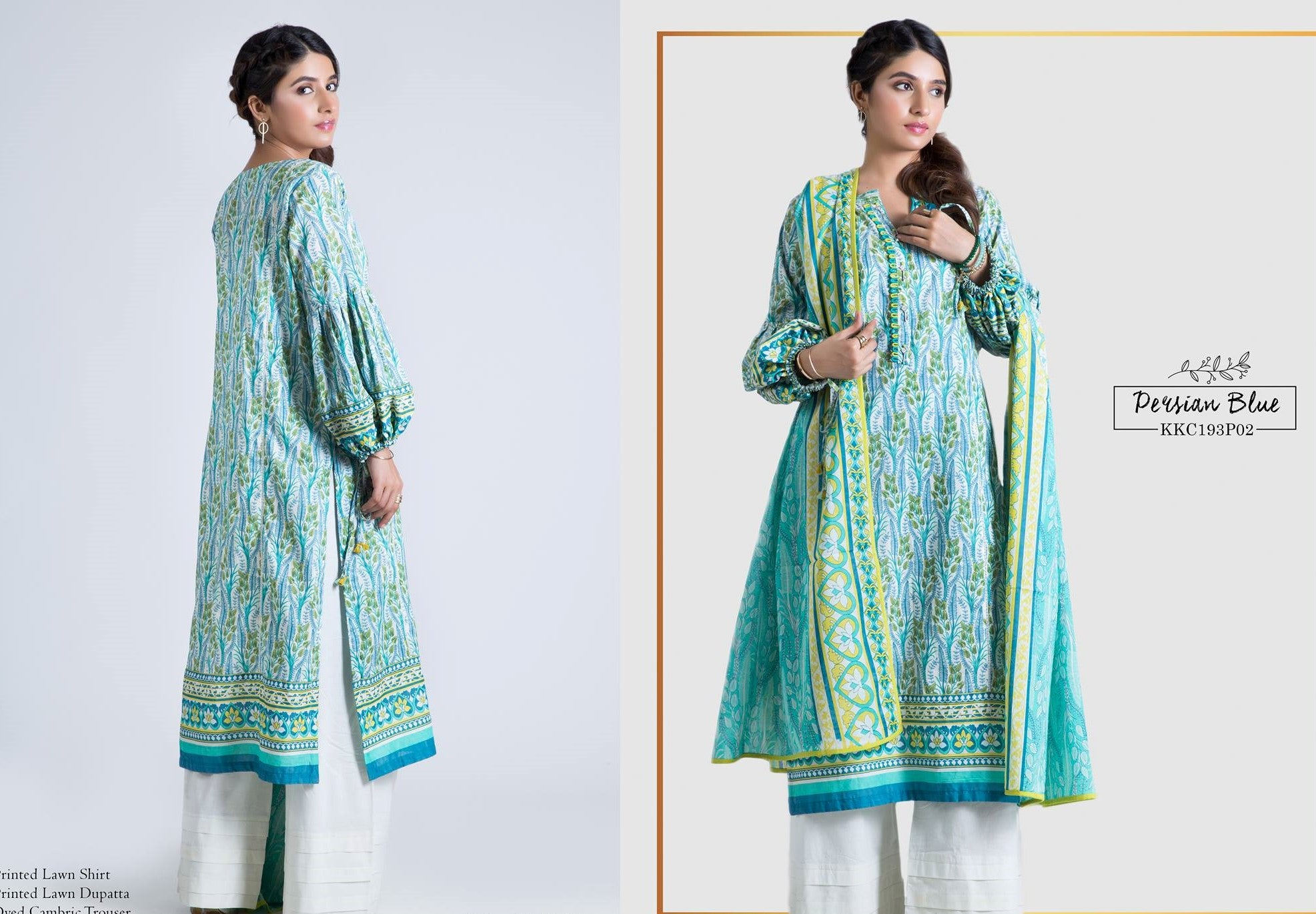SATRANGI Three Pieces suit KKC193P02