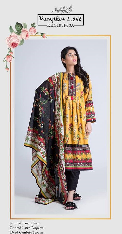 SATRANGI Three Pieces suit KKC193P03A