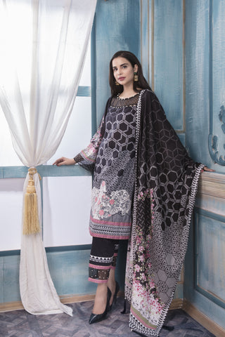 STITCHED 3 PIECE SUIT KL4024