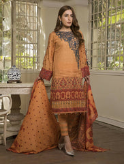 STITCHED EMB. LAWN 3 PC KL-4047