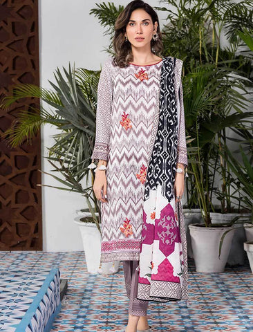 Stitched Embroidered 3 Piece KL-4103