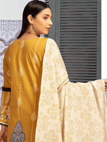 Stitched Embroidered 3 Piece KL-4108