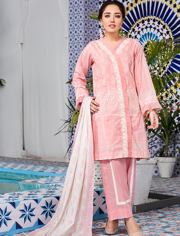 Stitched Embroidered 3 Piece KL-4112