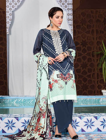 Stitched Embroidered 3 Piece KL-4115