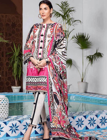 Stitched Embroidered 3 Piece KL-4118