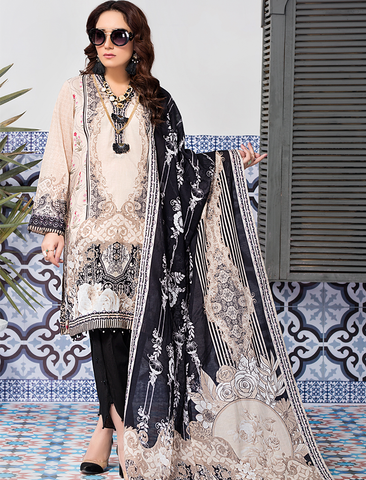 Stitched Printed 3 Piece KLA-9090