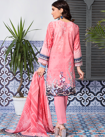 Stitched Printed 3 Piece KLA-9088