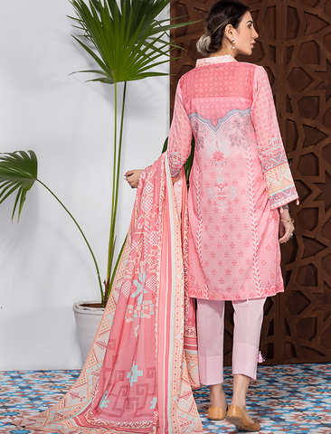Stitched Printed 3 Piece KLA-9079