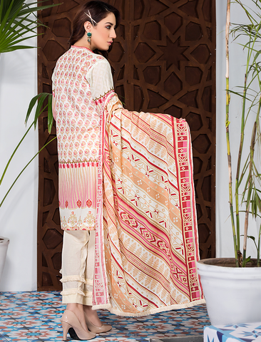 Stitched Printed 3 Piece KLA-9080