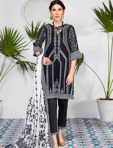 Stitched Printed 3 Piece KLA-9074