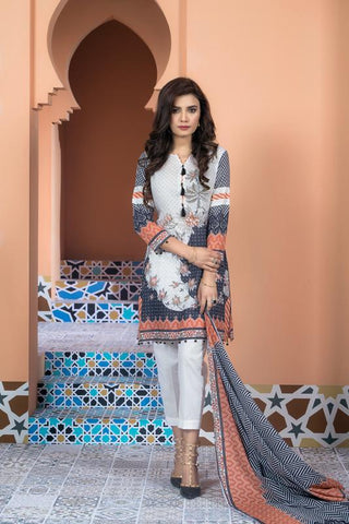 Stitched 3 Piece KLA-9006