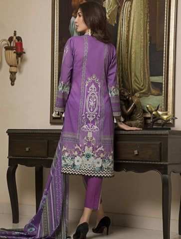 STITCHED PRNT. LAWN 3 PC KLA-9024