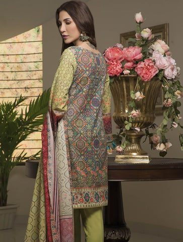 STITCHED PRNT. LAWN 3 PC KLA-9030