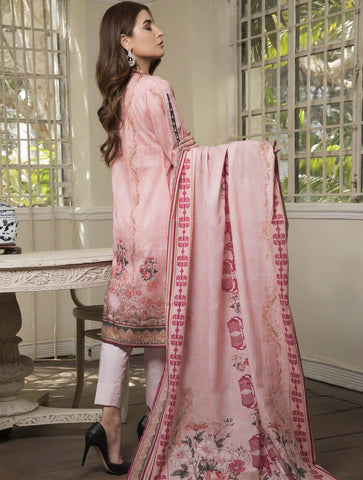 STITCHED PRNT. LAWN 3 PC KLA-9037