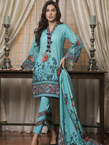 STITCHED PRNT. LAWN 3 PC KLA-9038