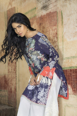 Khas Lawn Vol. 1 2018 Stitched 3 Piece Kse-8004