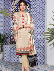 Stitched Embroidered 3 Piece KL-4102