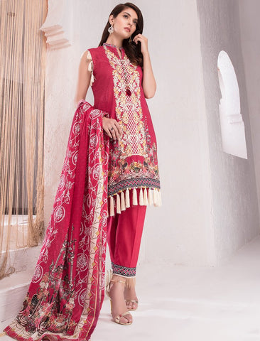 STITCHED 3 PIECE SUIT KL4023