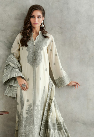 Gul Ahmed Lawn 2020 Stitched 3 Piece MJ#25