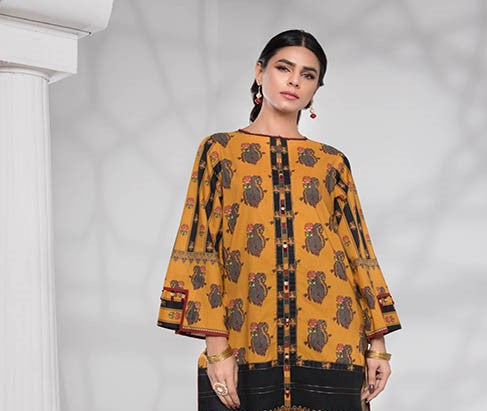 Stitched 2 Pieces suit Mustard Field 5