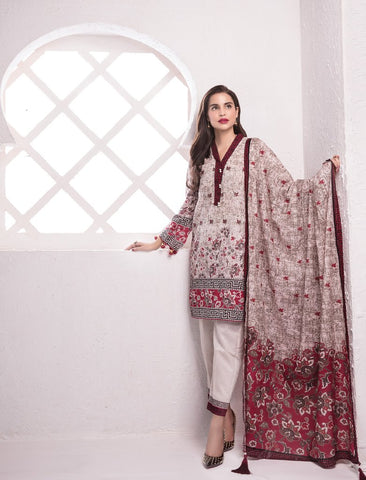 STITCHED 3 PIECE SUIT KL4026