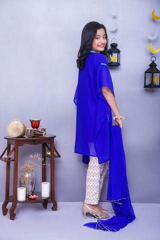 OFW142 Girls Kurti + Dupatta + Bottom