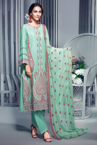 Gul Ahmed Lawn 2020 Stitched 3 Piece PM#286