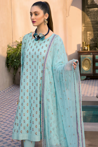 Gul Ahmed Lawn 2020 Stitched 3 Piece PM#349