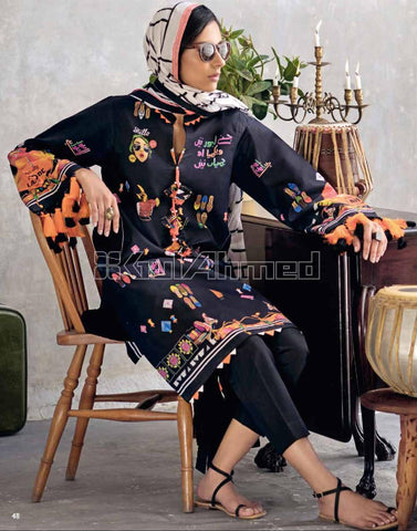 Gul Ahmed Lawn 2020 Stitched 3 Piece CL#863