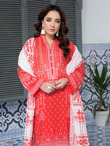 Stitched Printed 3 Piece KLA-9073