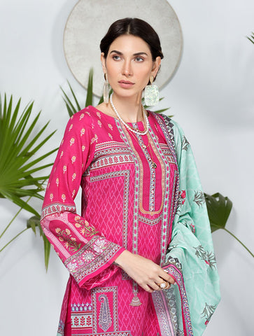 Stitched Printed 3 Piece KLA-9082
