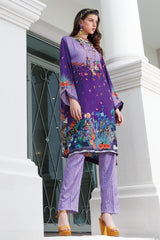 Stitched 2 Piece Embroidered Silk DGT # 89