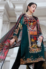Stitched 2 Piece Embroidered Silk DGT # 83