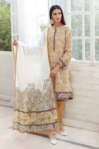 Gul Ahmed Lawn 2020 Stitched 3 Piece CL#774A