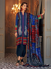 GUL AHMED WINTER VL-73 Emb. Velvet