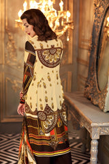 GUL AHMED WINTER VL-74 Emb. Velvet