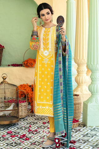 Gul Ahmed Lawn 2020 Stitched 3 Piece TD#03