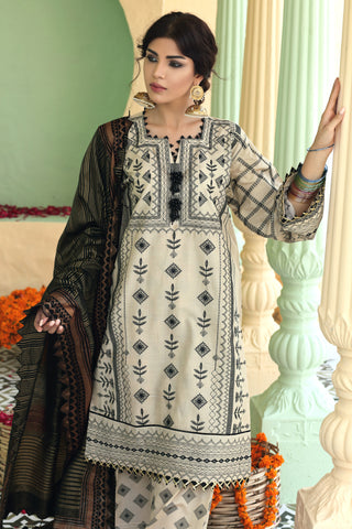 Gul Ahmed Lawn 2020 Stitched 3 Piece TD#04