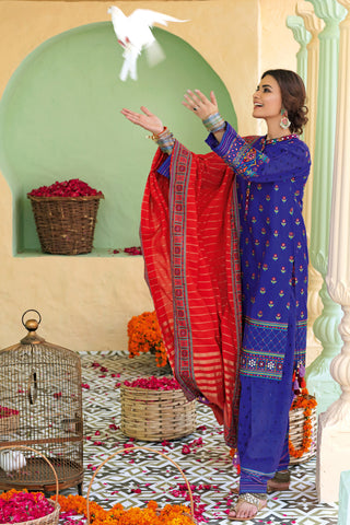 Gul Ahmed Lawn 2020 Stitched 3 Piece TD#02