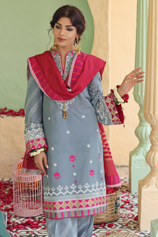 Gul Ahmed Lawn 2020 Stitched 3 Piece TD#01