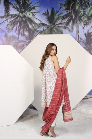 Shirt Dupatta Printed SS10.1-2IN GFSU1820