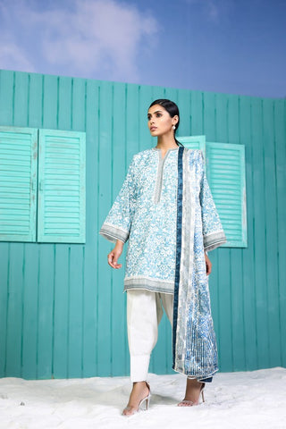 Shirt Dupatta Printed SS11.1-2IN GFSU1822